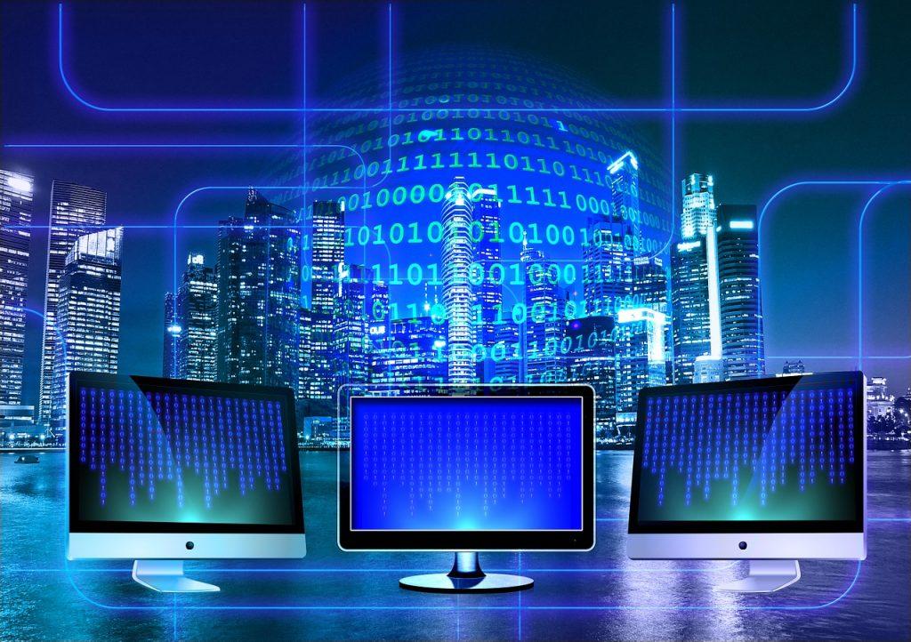monitor, binary, binary system-1307227.jpg